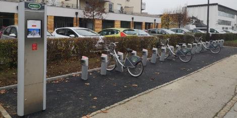bicikelj ljubljana viško polje november 2020