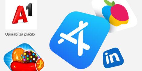 Apple A1 Slovenija mobile phone billing plačevanje z mesečnim računom