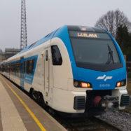 Kočevska proga Stadler Flirt Slovenske Železnice vlak prva vožnja ljubljana kočevje