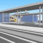Grosuplje prenova železniške postaje