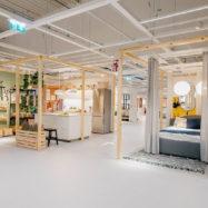 Ikea Slovenija Ljubljana trgovina notranjost