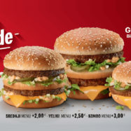 Big Mac legende cena Grand Big Mac Mac Junior Big Mac McDonalds Slovenija