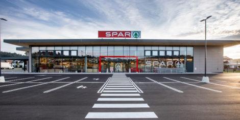 SPAR Logatec trgovina 2020