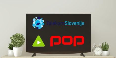 Telekom Slovenija POP TV Kanal A sprememba programskega mesta
