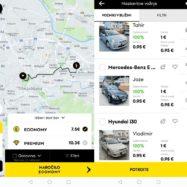 hopin taxi aplikacija ljubljana taxi rondo