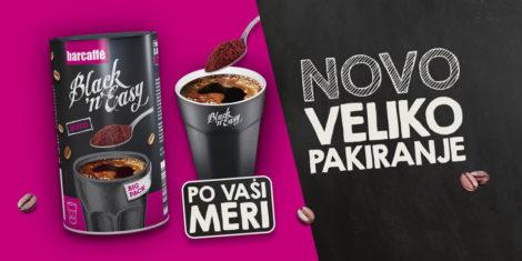 Kava Barcaffè Black'n'Easy Big pack