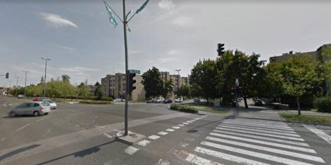 Trzaska-cesta-Ljubljana-zaprta-Tbilisijska-cesta-krizisce-2021