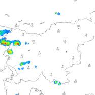 radarska slika padavin ARSO animacija
