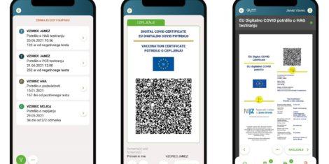 zVEM-mobilna-aplikacija-huawei-EU-digitalno-COVID-potrdilo-QR-koda-Apple-iOS-Google-Android