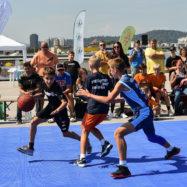 Citypark Ljubljana turnir ulične košarke 3 na 3