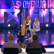 De liri harfa Slovenija ima talent 2021 tekmovalci Zala Kores Julija Bratec Veleski 1