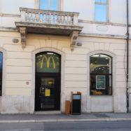 McDonalds Pula center zaprt oktober 2021
